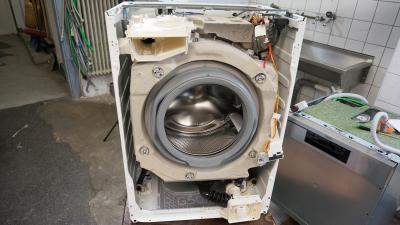 AEG - Waschmaschine reparieren - Front abnehmen (AEG/ Elektrolux)