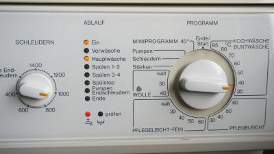 Ratgeber: Waschmaschine - Fehlermeldung Zulauf prüfen (Miele)