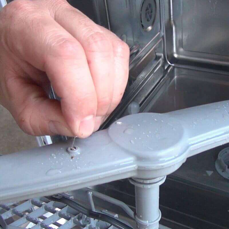 Siemens Geschirrspüler Sprüharme reinigen