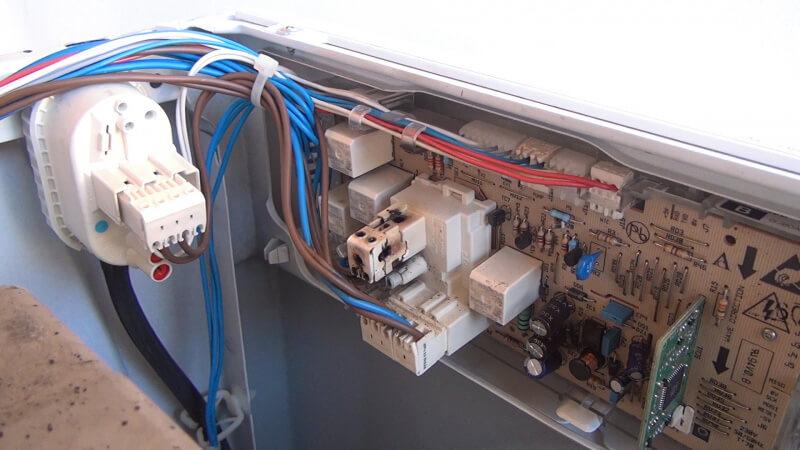 Gorenje Waschmaschine löst den FI aus: Elektronik tauschen