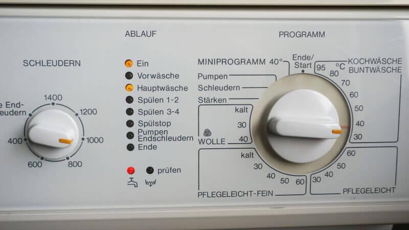 Leitfaden:  Miele Waschmaschine - Zulauf prüfen