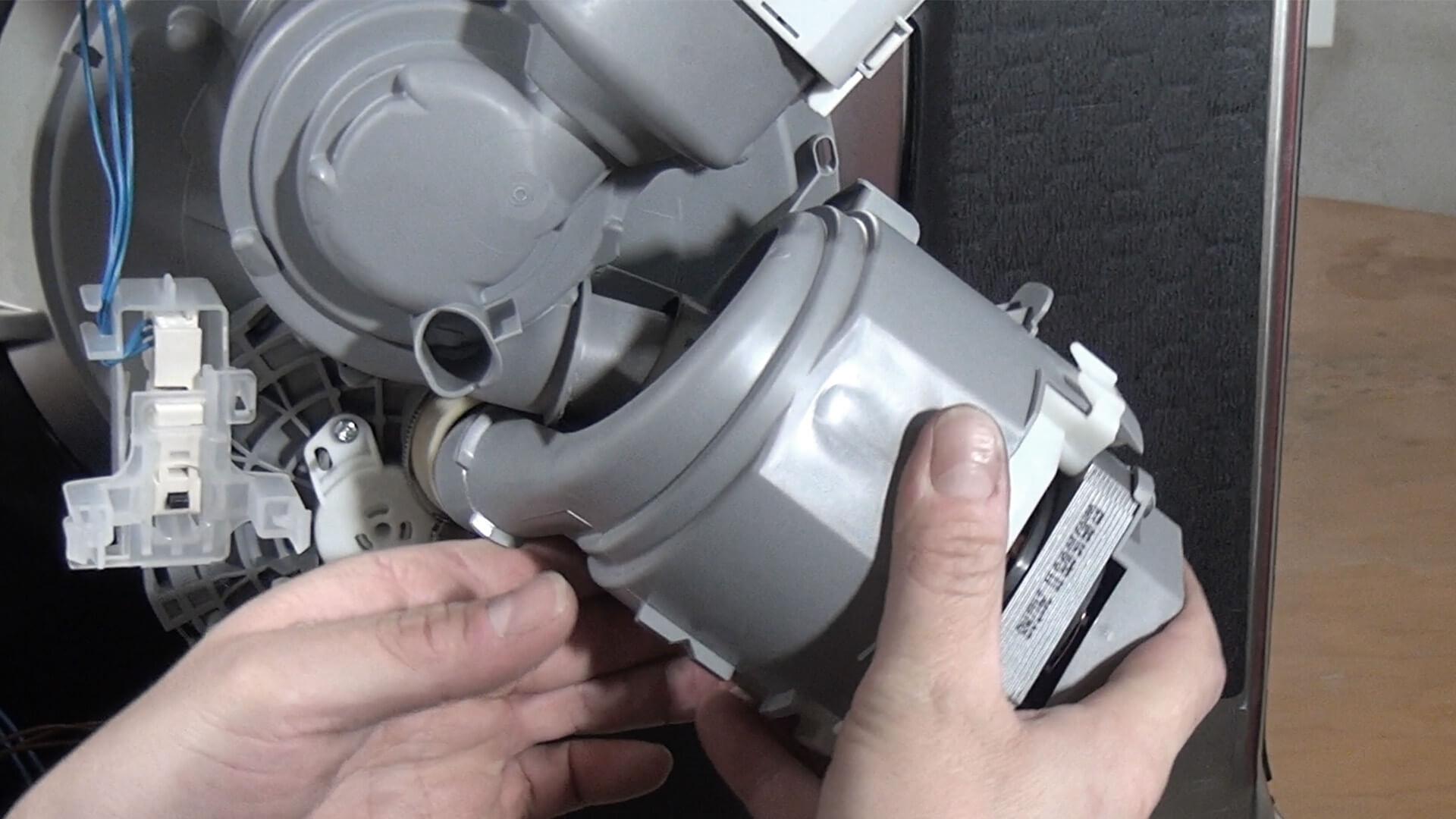 Bosch Geschirrspüler - Heizpumpe austauschen