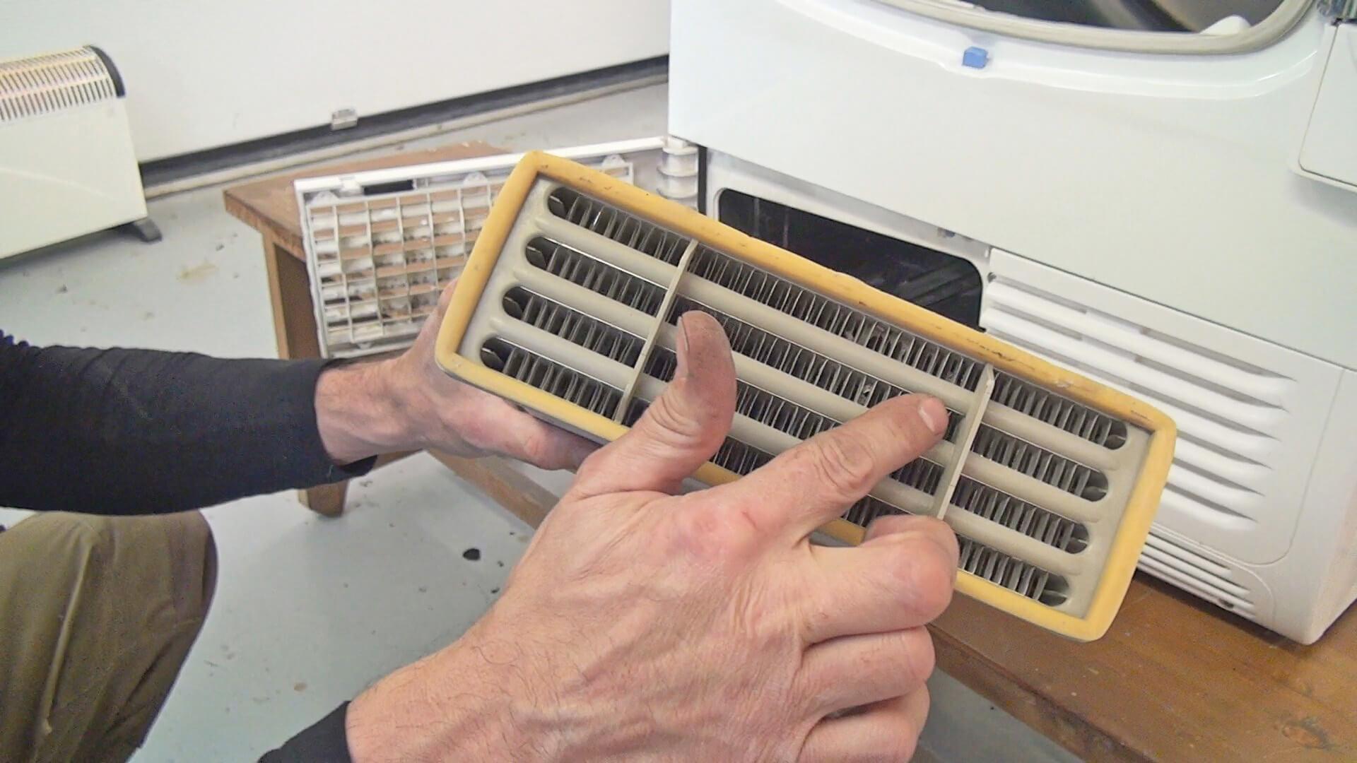 Extrem Fehlersuche: Whirlpool Trockner trocknet nicht mehr richtig SA44