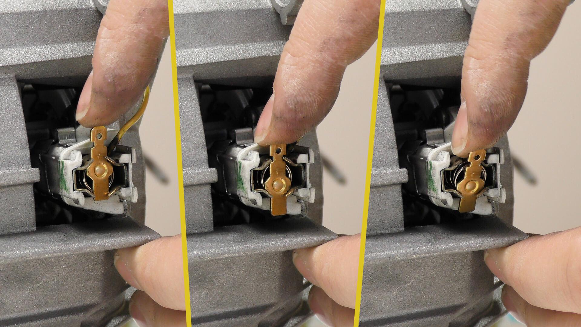 Siemens waschmaschinenmotor motorkohlen tauschen