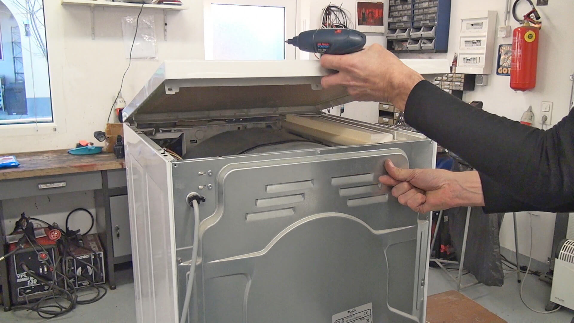 Reparaturanleitung whirlpool trockner antriebsriemen tauschen