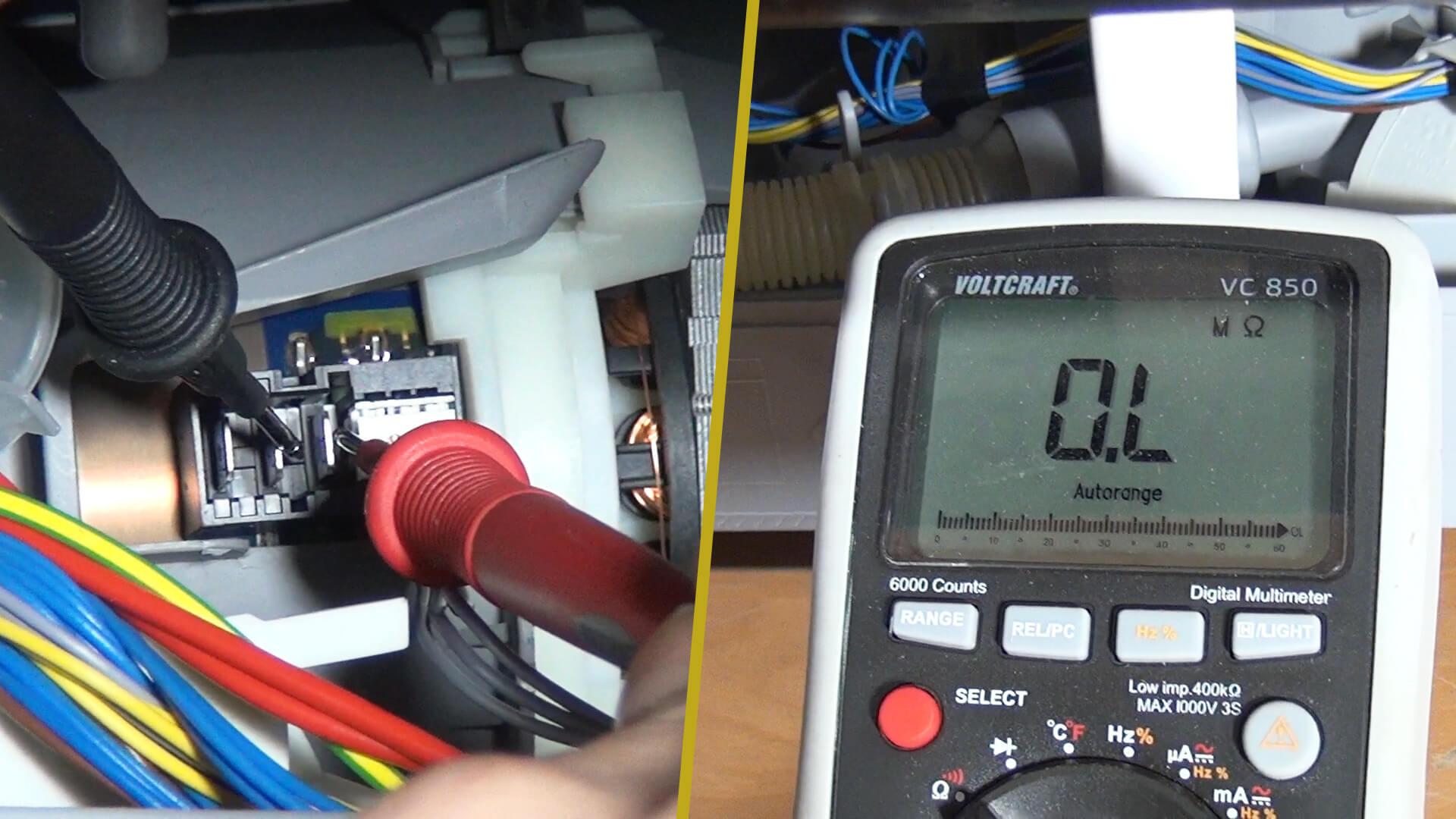 Berühmt Bosch Geschirrspüler - Fehlermeldung E09 - Heizpumpe prüfen QM71