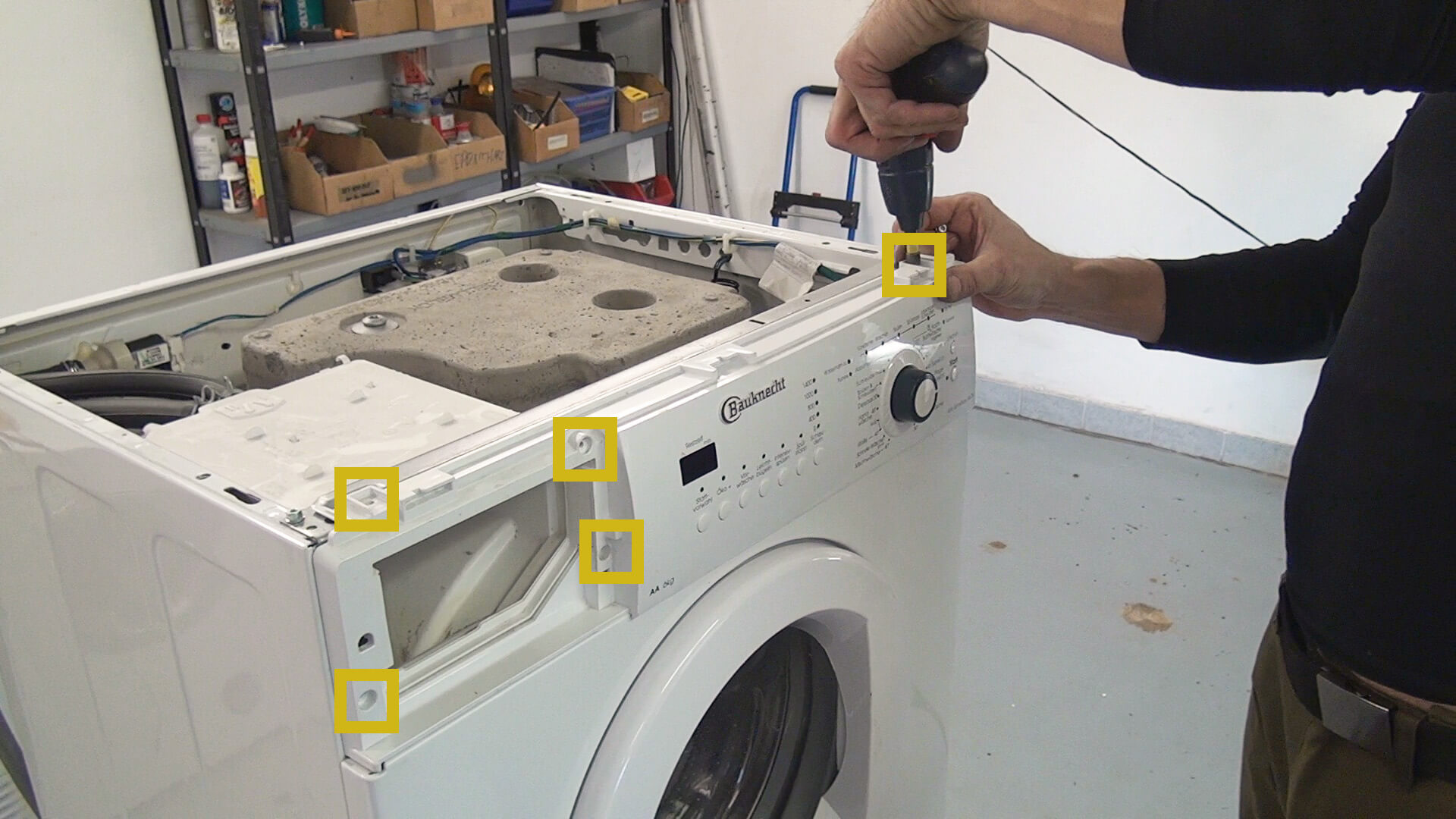 Bauknecht Waschmaschine geht nicht mehr an