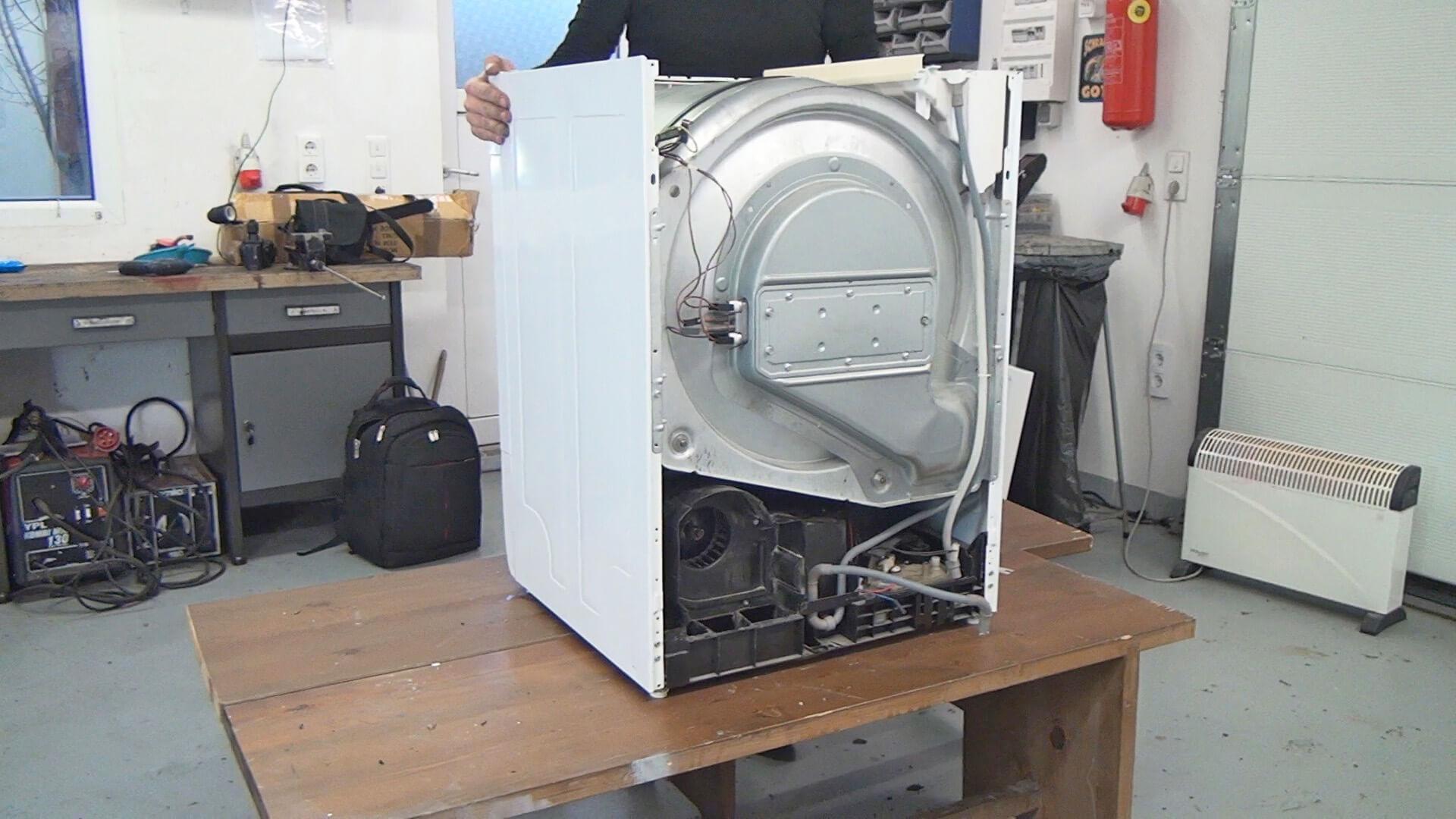 Whirlpool trockner fehlermeldung wasserbehälter leeren