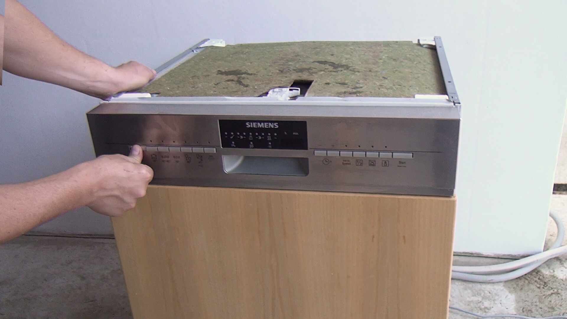 Gereinigte Spülmaschine