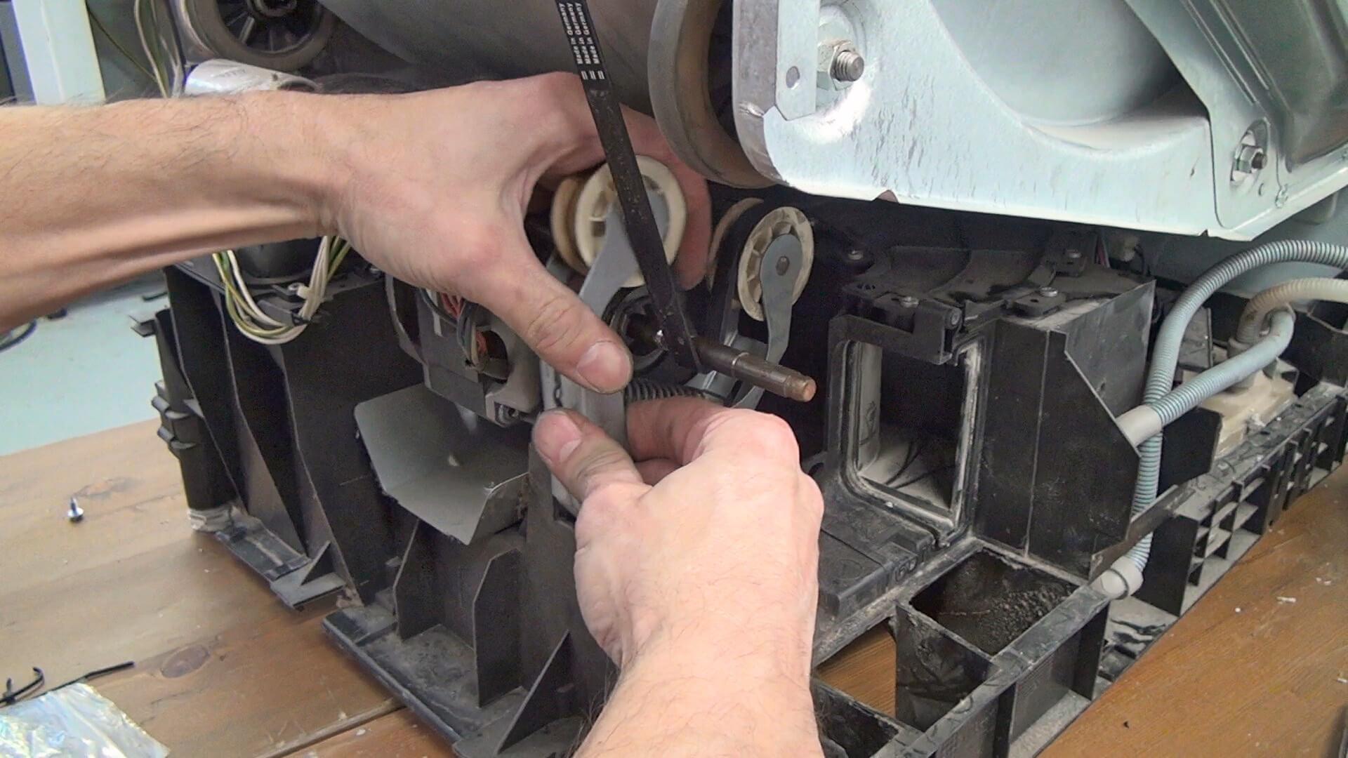 Reparaturanleitung: whirlpool trockner antriebsriemen tauschen